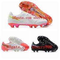 2021 Мужские футбольные туфли Tiempo Legend 9 FG Clears Низкая лодыжка Футбольные ботинки Белый Золотой Черный Размер 39-45 EUR01