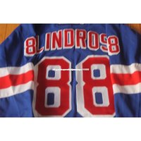 Eric CCM barato Custom Lindros New York Rangers Jersey Mens Personalized Stitching Jerseys