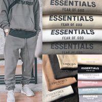 2021 de miedo a Dios Sweetpants Niebla Esenciales Suda Pantalones para hombre Casual Pantalones Largos Largos Pantalones Hombres Mujeres Hip Hop Skateboard Streetwear