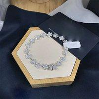 Pure Silver APM F, D Bracciale Fiore Temperamento Femmina Seiko Flower Bust Benedizione Bracciale Braccialetto Ornamento a mano Diamante A Famiglia