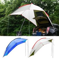 Tents And Shelters Car Awning SunShelter SUV Tent Canopy Portable Camper Trailer Rooftop For Beach Hatchback Minivan Sedan Outdoor Camping