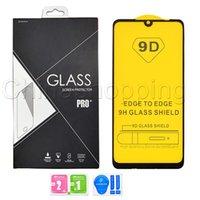 2PAC 팩 9D 강화 유리 스크린 프로텍터 커버 필름 iPhone 12 미니 11 Pro XR XS Max 7 8 Plus LG Stylo 4 5 6 소매 Packag