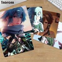Muismatten Pols Rests Sword Art Online Asada Shino Rubber Duurzaam Desktop Mousepad Gladde Schrijfblok Desktops Mate Gaming