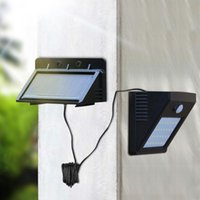 Solar Lamps Separable Panel Outdoor LED Wall Lamp Motion Sensor  Night Sensor Light For Garden,Patio,Driveway,Yard, Fence,Stairs