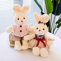 Cute Stuffed Dolls Plush Animal Toys Soft Cartoon Rabbit Kids Girl Gifts
