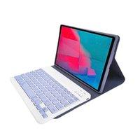 """Tastaturen abnehmbare Fruchtfarbe Bluetooth-Tastatur für Lenovo M10 plus 10.3 """"Tab P11 11"""" Pro 11.5 """"Wireless mit Ledertasche"""