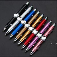 Gyro القلم تململ لعبة الروتاري مكثف لغز التفكير الدوران القلم الكرة المعدنية متعددة الوظائف الإصبع إزالة الضغط القلم EWF5656