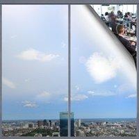 Раббитгу одностороннее окно окно пленки против ультрафиолетовой оконной пленки съемное декоративное управление тепловым управлением Конфиденциальность стеклянные самоклеющиеся тонизирующие пленки