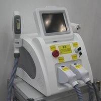 Professional 2in1 Beauty Machine IPL SHR Laser ND YAG permanente permanente Remover permanente SHR Riduzione dei capelli + Scambia la macchina di rimozione del tatuaggio del laser