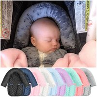 Pillows Baby Car Safety Soft Sleeping Head Support Pillow With Matching Seat Belt Strap Covers Carseat Neck Protection Headrest