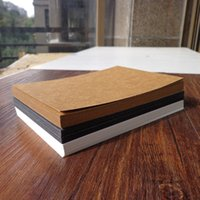 10pcs Blank Kraft Paper Card Sketch Drawing Bookmarks DIY Graffiti Painted Print Postcards Place Gift Greeting Invitation Cards
