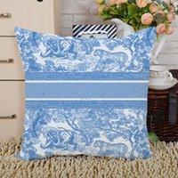 2021 Federa di alta qualità Home D Lettere Lettere Cuscini Coperture Cuscino Decor Pillow Case Regalo
