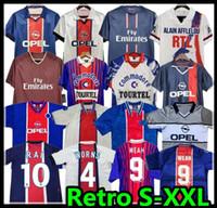 Okocha Retro Soccer Jersey 93 94 95 96 Leroy Adailton Beckham 98 99 00 01 90 92 Classic Rai Anelka Ibrahimovic Camisas de Futbol