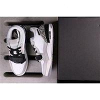 Genuine Jumpman 312 Scarpe da basket da donna da uomo, coppie grigie, scarpe da ginnastica in bianco e nero, spedizione integrale 36-45