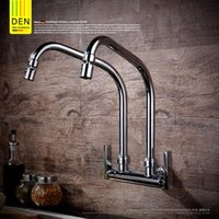 Bathroom Sink Faucets Universal Used By All Copper Faucet In The Kitchen Double Tube Water Washing Pool Xiancai Basins
