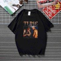 Tupac 2pac Black Tshirt Shakur Hip Hop T Shirts Makaveli Rapper Snoop Dogg Biggie Smalls Eminem J Cole Jay-Z Savage Hiphop Rap
