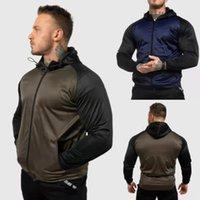 New men's sweater autumn and winter 2021 fashion leisure splicing zipper cardigan coat men