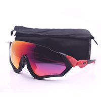 Top Quality Fashion sun glasses Flight Jacke Sports Sunglasses Polarized Women Men prizm brand Cycling Eyewear With Box