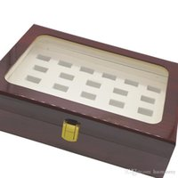 27 Holes For Championship Rings Box In Jewelry Packaging