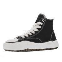 Maison Mihara Yasuhiro Canvas Stivali da uomo Nigel Cabourn Sneakers Mens Original Sole Sport Boot Womens Sport Scarpe da donna Sneaker da donna Skakeer