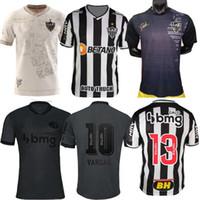Atlético 2021 2022 Atlético Mineiro Soccer Jersey Manto da Massa 113 Edição Especial 21 22 Fred Diego Costa Otero Moura Elias Robinho Valdivia Adilson Black Shirt