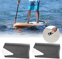 Pente de cera de prancha de cozinha com barbatana chave de surf cata pente removedor de limpeza Skimboard surfing acessório água ferramenta de manutenção de esportes