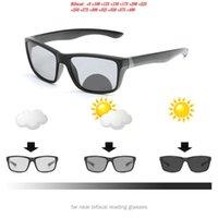 Occhiali da sole Guida da uomo Pochomic Bifocal Lettura Bifocal Occhiali da lettura Sport Goggles Donne Transizione quadrata Transizione prescrizione Sun Reader NX