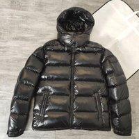 2021 светло-нижний пиджак дизайнерские пальто мужские зимние холодные доказательства мужчин пальто утолщенные теплые с капюшоном высочайшее качество новых шаблонов гусиных пусков куртки большой размер