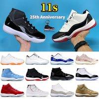 Мужские баскетбольные кроссовки High 11 Low legend University, синие 11 s, белые, белые, bred concord, 45, pantone, женские кроссовки, мужские кроссовки