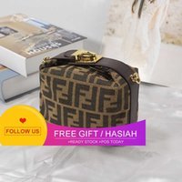 New Style Old Flower Womenbag Ff One Shoulder Slant Span Small Square Pillow Handbag Underarm