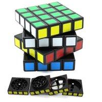 60mm Dekompresyon Küp Sigara Tütün Öğütücü Dumanları Aksesuarları Metal Alaşım 4 Katmanlar Öğütücüler CNC Diş Filtresi Net Kuru Buharlaştırıcı Kare Rubik Küpleri Kırıcı