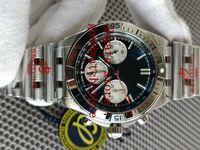5 стилей гоночный производитель GF Mens наручные часы Cal.750 ETA автоматическое движение 42 мм хронограф механические ручные обмотки