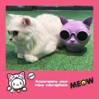 Nuevo Altavoz Bluetooth de la cabeza del perro del modelo privado lindo Bluetooth STEREO CAT PET MINI altavoz