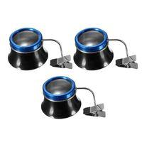 Reparação de ferramentas Kits 5x / 10x / 20x Clip-on Eyeglass Magnifier Watch Tool Loupes Lens Lens Lens Portátil Watchmakers Joalheiros