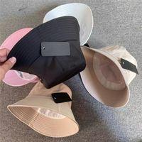 Fashion Designer Bucket Hats for Men Woman Baseball Caps Nylon Fisherman Buckets Hat Patchwork High Quality Summer Winter Sports Buckets