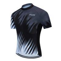 Teleyi 2021 Bisiklet Jersey Tops Yaz Yarışı Bisiklet Giyim Ropa Ciclismo Kısa Kollu MTB Bisiklet Jersey Gömlek