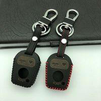 Gzyoumei New Remote 3 أزرار جلدية حماية سيارة مفتاح حالة تغطية ل BMW E46 E31 E32 E34 E36 E38 E39 Z3