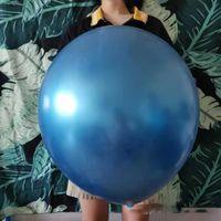 15 шт. / Лот украшение глянцевый металл жемчужина латексные воздушные шары толстые хромированные металлические цвета надувные воздушные шарики 18 дюймов Globos день рождения / декор