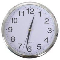 Timelike Classic Винтажные круглые настенные часы Современные пластиковые часы Кварц Horloge Ретро Уолты Стена
