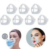 3D Maskenhalterung für Erwachsene Kinderlippenstift Schutzständer Maske Innenstützrahmen Gesichtsmasken Halter Werkzeug Zubehör L