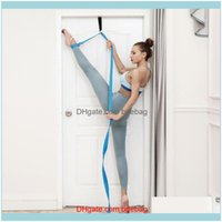 Resistance Bands Equipments Fitness Supplies & Outdoorsdoor Adjustable Stretching Yoga Ballet Band Strap Flexibility Sports Exercise Soft Le