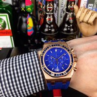 Mens Watch Waterproof Fashion Watches 42mm Equipped With Japanese Multi-function Quartz Movement Montre de Luxe Fashion Women Wristwatch Top