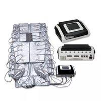 Pressotherapie Abnehmen 3in1 Infrarot Sauna EMS Elektrische Muskelstimulation Lymph Drainage Körpermaschine Pressotherapie Massageausrüstung
