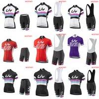 Donne Liv Cycling Jersey Set Racing Bicycle Abbigliamento Maillot Ciclismo Tour de France Estate Quick Dry MTB Bici Abbigliamento Sportswear Y21030912