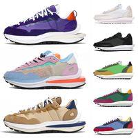 En Kaliteli 2021 Spor Koşu Ayakkabıları SACAIS X LDV LD Wafle Erkekler Kadınlar Blazer Pegasus Vaporwafle Susam Mavi Void Açık Eğitmenler Sneakers