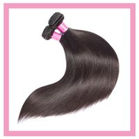 Peruvian Human Virgin Hair Extensions Two Bundles Straight 95-100g piece Pure Natural Color Remy 2 Pieces lot
