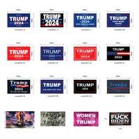 Трамп Флаг 2024 Избранный флаг Баннер Дональд Трамп Флаг Храните Америку СНОВА СНОВА 150 * 90 см 16 Стили Иванки Трамп Флаги Cyz2982