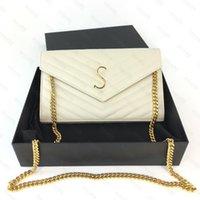 Borsa in vera pelle borsa a catena moda kate frizione signora niki designer di lusso borse a tracolla tote bowhide premesbyopic porta carte borse a tracolla donne uomini
