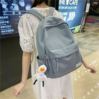 Backpack 2121 Classic Design Macarons Cotton Fabric Women College School Student Book Bags Girls Leisure Travel