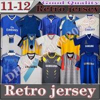 CFC Retro Soccer Jersey Lampard Torres Drogba 2011 2013 финал 1982 1994 1995 1997 1999 CRESPO WISE рубашка 2003 2005 2007 2008 COLE ZOLA VALLI GULLIT